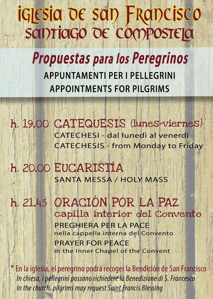 franciscanosSantiagooracionperegrinos